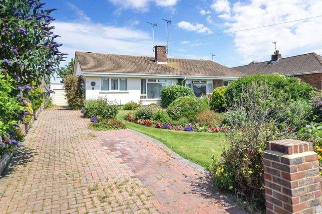 Thumbnail Semi-detached bungalow for sale in Holmes Lane, Rustington, West Sussex