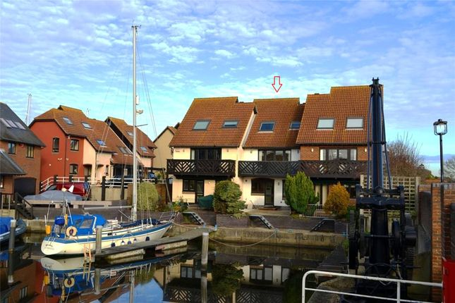 Thumbnail Terraced house for sale in Velsheda Court, Hythe Marina Village, Hythe, Southampton