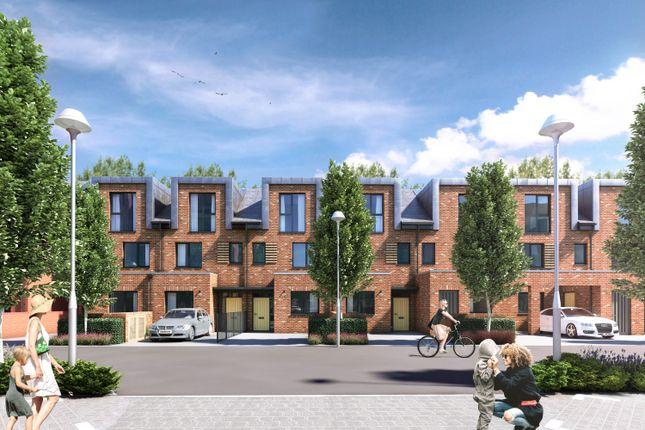 Thumbnail Terraced house for sale in Reynard Mills, Reynard Way, Brentford