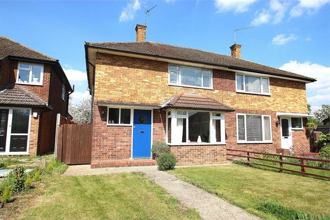 Thumbnail Semi-detached house for sale in Walpole Road, Old Windsor, Berkshire