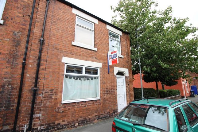 Thumbnail Terraced house for sale in Belle Vue, Leek, Staffordshire