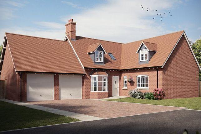 Thumbnail Detached house for sale in The Shugborough V, Millbrook Grange, Cottingham Drive, Moulton