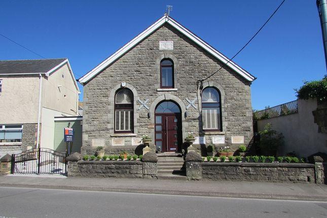 Thumbnail Detached house for sale in Bryn Seion Chapel Coychurch Road, Pencoed, Bridgend.