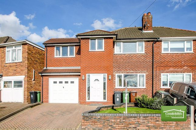 Thumbnail Semi-detached house for sale in Fordbrook Lane, Pelsall, Walsall