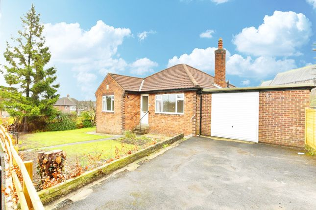 Thumbnail Detached bungalow to rent in Hill Top Close, Harrogate, North Yorkshire