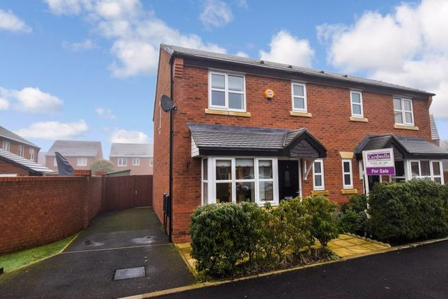 Semi-detached house for sale in Rayon Close, Sandfield Park, Bolton