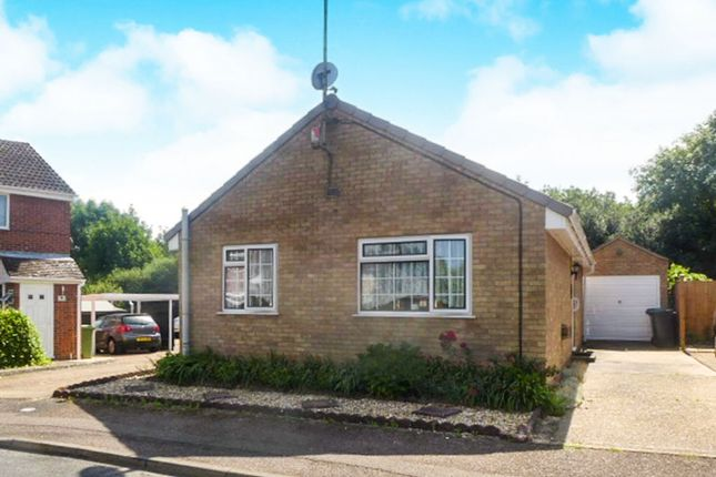 Thumbnail Detached bungalow for sale in Dryden Close, Thetford