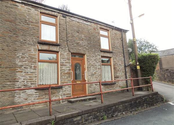 Thumbnail End terrace house for sale in Graig Yr Eos, Penygraig, Tonypandy