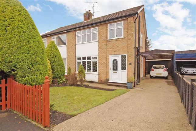 Thumbnail Semi-detached house to rent in Knox Grove, Harrogate, North Yorkshire