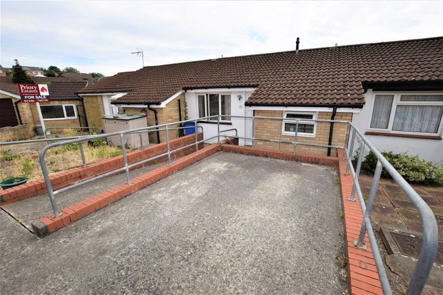 Thumbnail Terraced bungalow for sale in Marloes Close, Barry