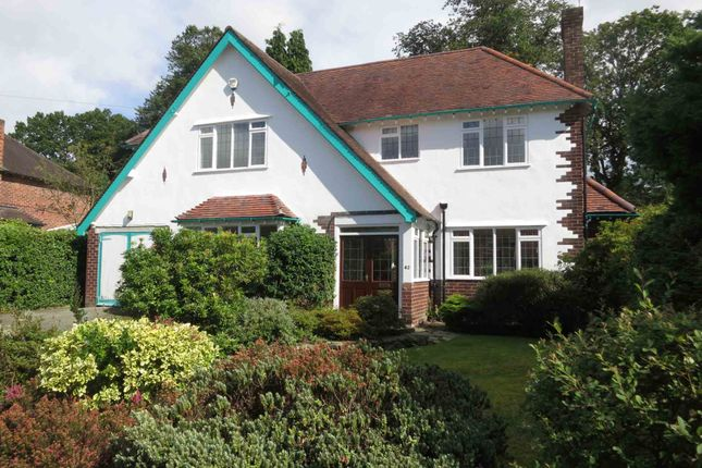 Thumbnail Detached house to rent in Broad Walk, Wilmslow