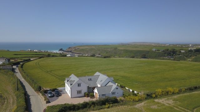 Thumbnail Detached house for sale in Porthcothan Bay, Padstow