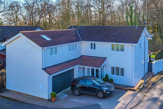 Thumbnail Detached house for sale in Sennybridge Crofta, Lisvane, Cardiff.