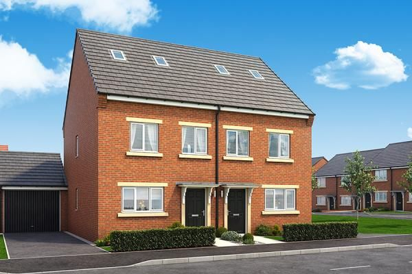 "Thumbnail Property for sale in ""The Ashford At Fairway"" at Mcmullen Road, Darlington"