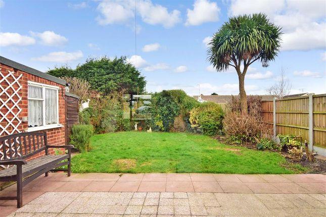 Rear Garden of Charlotte Avenue, Wickford, Essex SS12