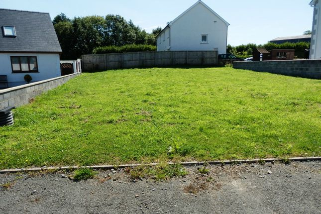 Thumbnail Land for sale in Castell Ystrad Development, Cross Inn, New Quay