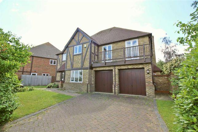 Thumbnail Detached house to rent in Shallowford Grove, Furzton, Milton Keynes