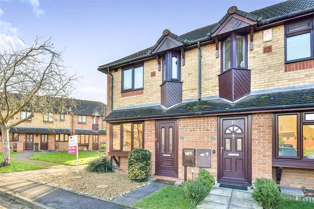 Thumbnail End terrace house for sale in Sorrell Drive, Newport Pagnell