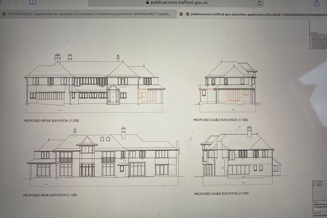 Thumbnail Mews house for sale in Rappax Rd Hale, Altringham