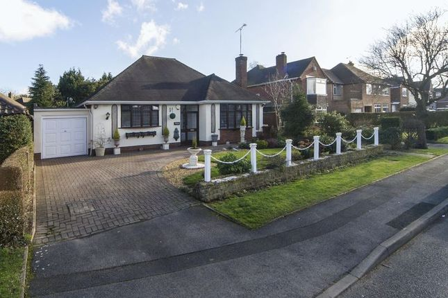 Thumbnail Detached bungalow for sale in Foley Avenue, Tettenhall Wood, Wolverhampton