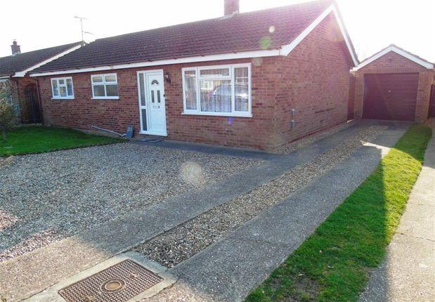 Thumbnail Detached bungalow to rent in Covey Way, Lakenheath, Brandon