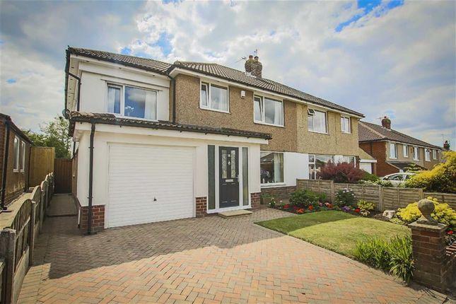 Thumbnail Semi-detached house for sale in Peel Park Avenue, Clitheroe, Lancashire