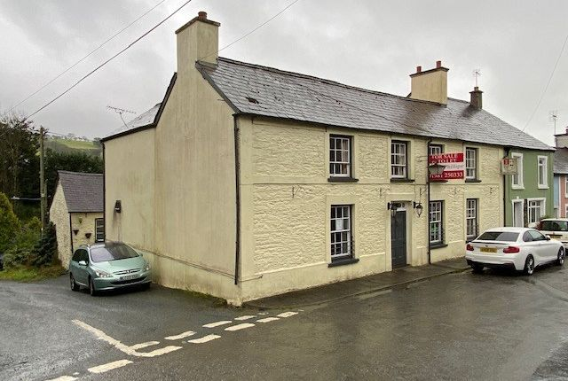 Thumbnail Commercial property for sale in Caio, Llanwrda