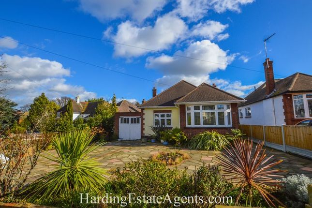 Thumbnail Detached bungalow for sale in Somerset Avenue, Westcliff-On-Sea, Essex