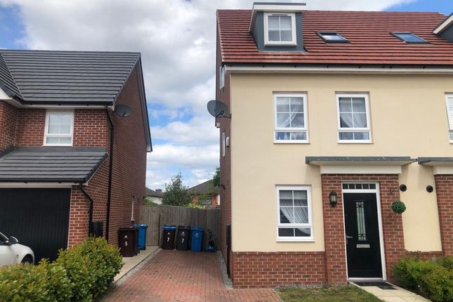 Thumbnail Semi-detached house for sale in Springwell Avenue, Liverpool
