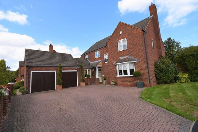 Thumbnail Detached house for sale in 9 Crofters View, Little Wenlock, Telford