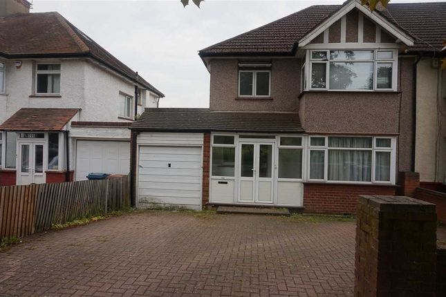 Thumbnail Semi-detached house to rent in Whitchurch Lane, Edgware, Edgware