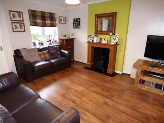 Lounge of Clough Field Close, Whaley Bridge, High Peak, Derbyshire SK23