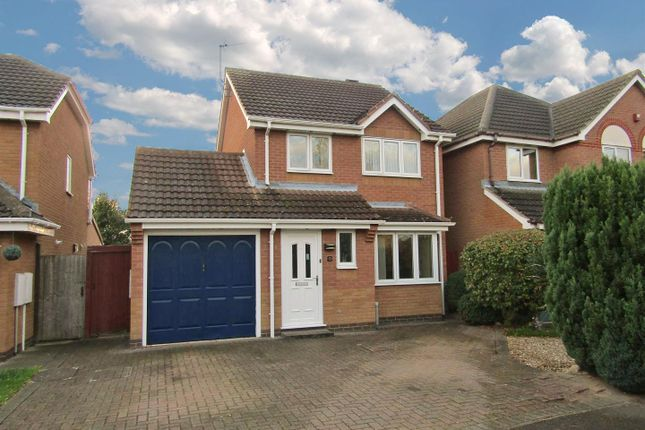 3 bed detached house for sale in Hart Close, Whetstone, Leicester