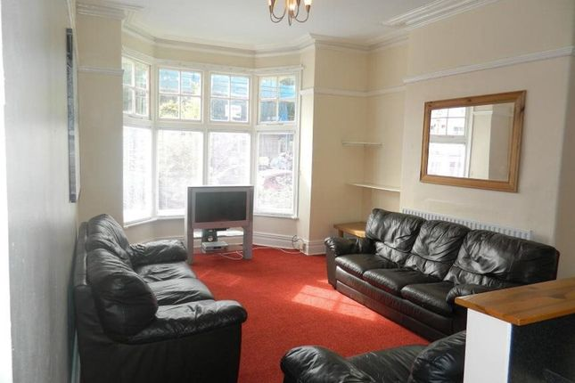 Thumbnail Shared accommodation to rent in Uplands Terrace, Uplands, Swansea
