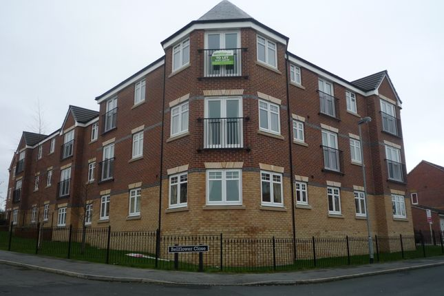 Thumbnail Flat to rent in Bellflower Close, Castleford