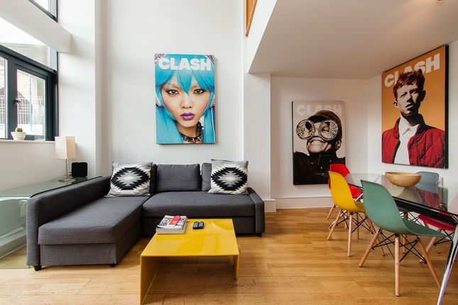 Thumbnail Flat to rent in Curtain Road, Shoreditch