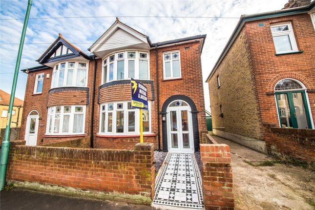 Thumbnail Semi-detached house for sale in Cleave Road, Gillingham, Kent