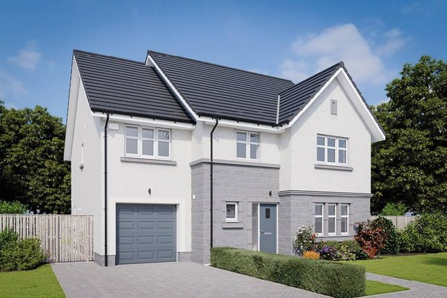 "Thumbnail 5 bedroom detached house for sale in ""The Darroch"" at Balhalgardy Rise, Inverurie"