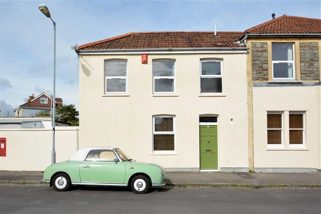 Thumbnail End terrace house for sale in Monk Road, Bishopston, Bristol