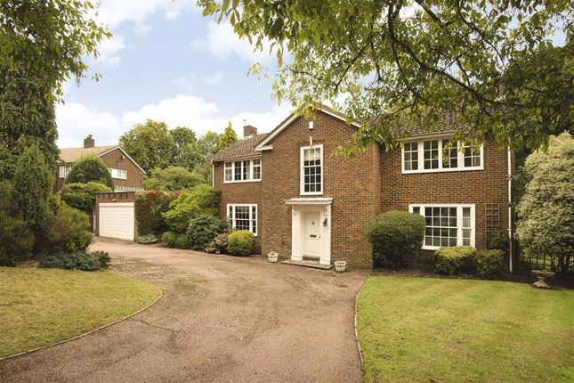 Thumbnail Detached house for sale in Corbar Close, Hadley Wood, Hertfordshire