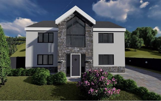 Thumbnail Detached house for sale in Forest Lodge Lane, Port Talbot