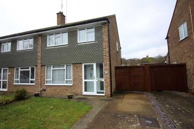 Thumbnail Semi-detached house to rent in Nobles Way, Egham