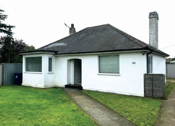 Thumbnail Bungalow for sale in Lowfield Road, London