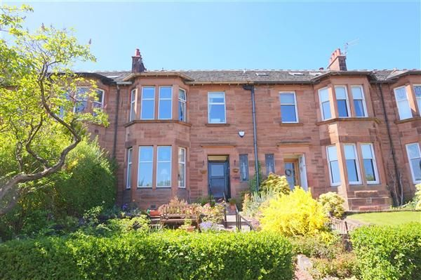Thumbnail Terraced house to rent in Clarkston Road, Glasgow