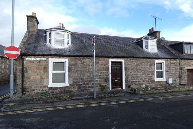 Thumbnail Terraced bungalow for sale in Academy Street, Elgin