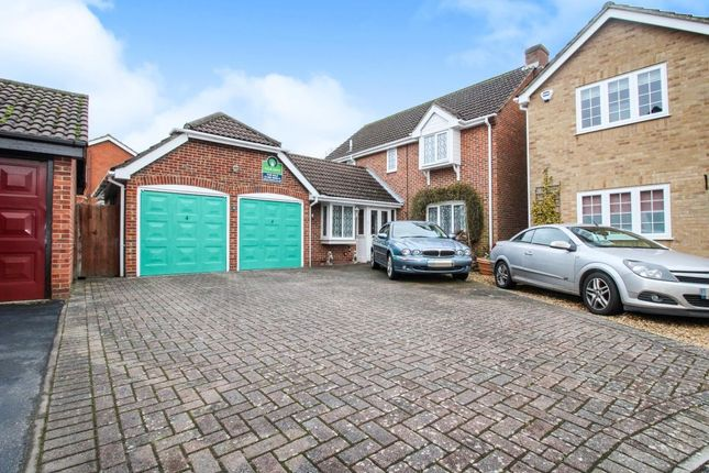 Thumbnail Detached house for sale in Sorrel Close, Locks Heath, Southampton