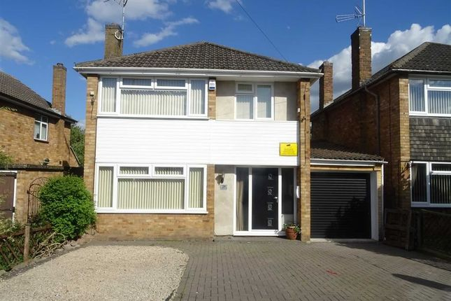 Thumbnail Detached house for sale in Frewen Drive, Sapcote, Leicester