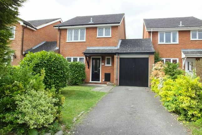 Thumbnail Detached house for sale in Barnard Close, Frimley, Camberley
