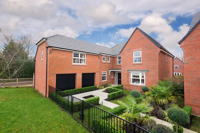 "Thumbnail Detached house for sale in ""Arbury"" at Adlington Road, Wilmslow"