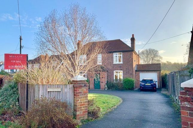 Thumbnail Detached house for sale in Milley Road, Waltham St. Lawrence, Reading